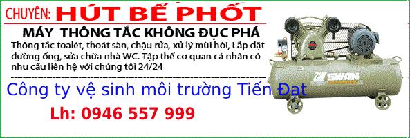 Hút hầm cầu huyện Đức Thọ, tỉnh Hà Tĩnh