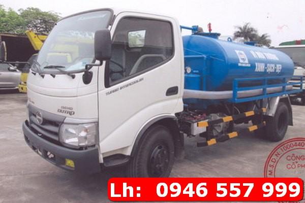 Dịch vụ hút hầm cầu huyện Hương Sơn, tỉnh Hà Tĩnh